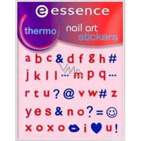 Essence Nail Art Sticker nálepky na nehty 14 Thermo 1 aršík