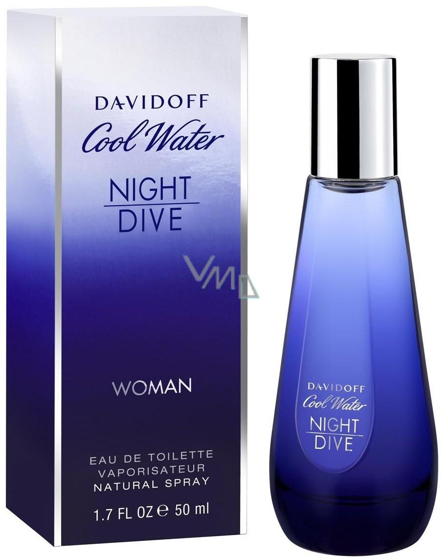 Davidoff Cool Water Night Dive Woman toaletní voda 80 ml