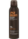 Piz Buin Instant Glow SPF15 rozjasňující sprej na opalování s okamžitým zářivým efektem 150 ml