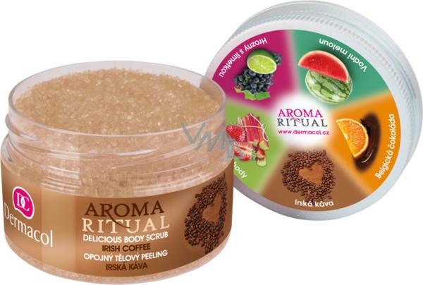 Dermacol Aroma Ritual Irská káva Opojný tělový peeling 200 g