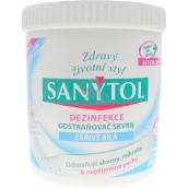 Sanytol Dezinfekce odstraňovač skvrn zářivě bílá 450 g