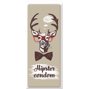 Bohemia Love Condoms dárkový kondom Hipster Condom 1 kus