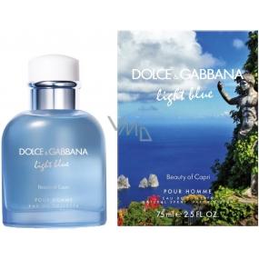 Dolce & Gabbana Light Blue Beauty of Capri toaletní voda pro muže 40 ml