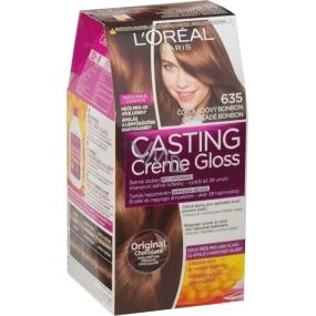 Loreal Paris Casting Creme Gloss barva na vlasy 635 Čokoládový bonbon