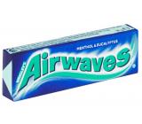Wrigleys Airwaves Menthol & Eucalyptus žvýkačka dražé 10 kusů, 14 g