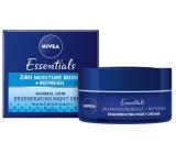 Nivea Essentials zvláčňující noční krém pro normální až smíšenou pleť 50 ml