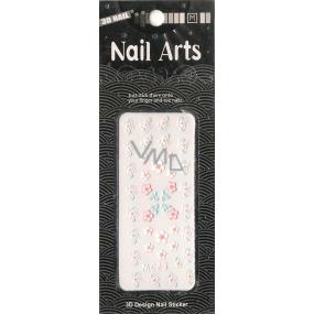 Nail Accessory 3D nálepky na nehty 10100 MC23 1 aršík