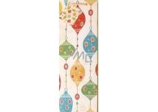 Nekupto Dárková papírová taška na láhev 33 x 10 x 9 cm Vánoční 894 01 WLH