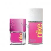 Nike Pink Woman toaletní voda 30 ml + parfémovaný deodorant sklo 75 ml, dárková sada