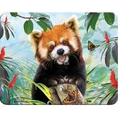 Prime3D magnet - Panda Červená 9 x 7 cm
