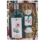 Bohemia Gifts & Cosmetics Cactus olivový a hroznový olej sprchový gel 200 ml + ručně vyráběné mýdlo 30 g kosmetická kazeta