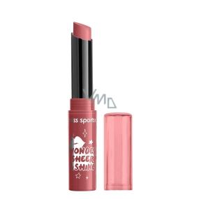 Miss Sporty Wonder Sheer & Shine Lipstick rtěnka 400 Tinged Red 1 g
