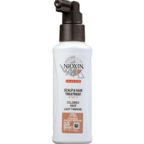 Nioxin System 3 Scalp & Hair Bezoplachová péče pro mírně řídnoucí chemicky ošetřené jemné vlasy 100 ml