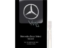 Mercedes-Benz Mercedes-Benz Select Night parfémovaná voda pro muže 1 ml s rozprašovačem, Vialka