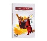 Admit Mulled Wine - Svařené víno čajová aromatická svíčka 6 kusů doba hoření 4 hodiny