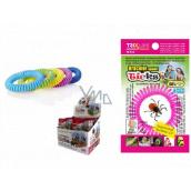 Trixline Repelentní voděodolný náramek - gumička proti klíšťatům s citriodiolem 1 kus, TR 352 náhodný výběr barvy