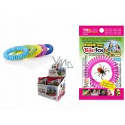 Trixline Repelentní voděodolný náramek - gumička proti klíšťatům s citriodiolem TR 352 1 kus, náhodný výběr barvy