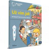 Albi Kouzelné čtení interaktivní mluvící kniha Už vím jak