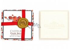 Castelbel Fresh Berries - Čerstvé bobule vánoční toaletní mýdlo 2 x 150 g, kosmetická sada