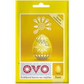 Ovo Žlutá prášková barva 1 sáček (5 g) = 10 - 15 vajec