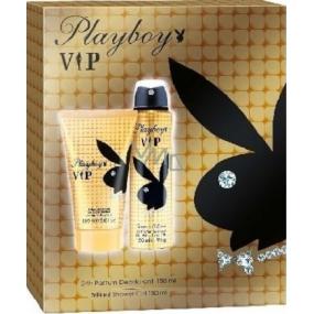 Playboy Vip for Her sprchový gel 150 ml + deodorant sprej 150 ml, kosmetická sada