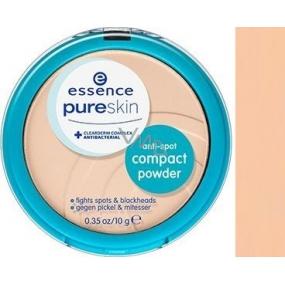 Essence Pure Skin Anti-Spot Compact Powder kompaktní pudr 01 Beige 10 g