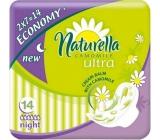 Naturella Camomile Ultra Night intimní vložky 14 kusů