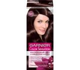 Garnier Color Sensation barva na vlasy 4.12 Diamantová hnědá