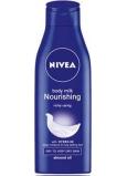 Nivea Body Milk výživné tělové mléko pro velmi suchou pokožku 250 ml