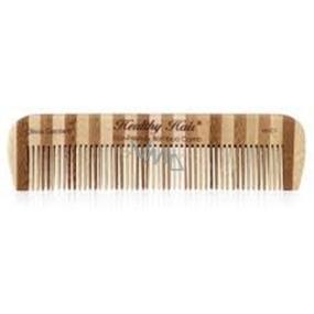 Olivia Garden Bamboo Healthy Hair Comb 1 Bambusový hřeben s antistatickým efektem Eco 15 cm