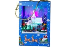 Star Trading Dekorativní taška LED 22 x 15 cm