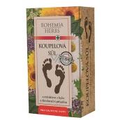 Bohemia Gifts & Cosmetics Extrakt bylin sůl do koupele na nohy s deodoračním účinkem a antibakteriální přísadou 200 g
