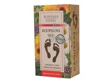 Bohemia Gifts & Cosmetics Extrakt bylin koupelová sůl na nohy s deodoračním účinkem a antibakteriální přísadou 200 g