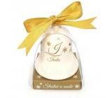 Nekupto Vánoční keramický zvoneček se jménem Iveta 6,5 cm, x 5,5 cm