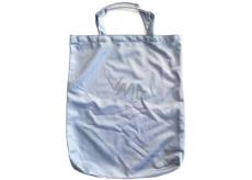 Taška nákupní Pretty modrošedá s bužírkou 40 x 33,5 x 3 cm 9936