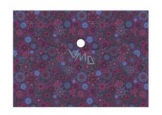 Albi Original Pouzdro na dokumenty Květiny fialové A4 - 210 x 297 mm