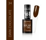 Revers Solar Gel gelový lak na nehty 34 Dark Chocolate 12 ml