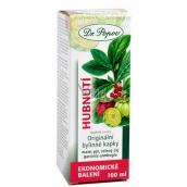 Dr. Popov Hubnutí originální bylinné kapky podporují vylučování vody, normální metabolismus tuků, omezení chuti k jídlu 100 ml