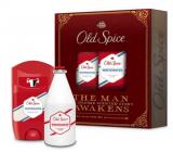 Old Spice White Water Vintage antiperspirant deodorant stick 50 ml + voda po holení 100 ml, kosmetická kazeta pro muže