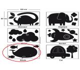 Apli Křídová tabule samolepící - velryba 60 x 100 cm