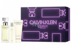 Calvin Klein Eternity parfémovaná voda pro ženy 100 ml + parfémovaná voda pro ženy 10 ml + tělové mléko 100 ml, dárková sada