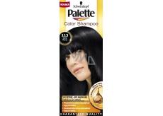 Schwarzkopf Palette Color Shampoo tónovací barva na vlasy 113 - Černý