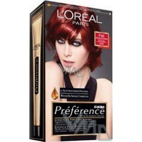 Loreal Paris Préférence Féria barva na vlasy P46 intenzivní temně rubínová