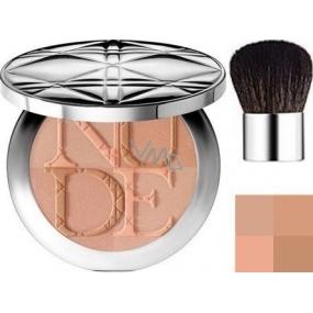 Christian Dior DiorSkin Nude Tan Couleur Eclat zářivý pudr odstín 001 Aurora 10 g
