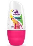 Adidas Cool & Care 48h Get Ready! for Her kuličkový antiperspirant deodorant roll-on pro ženy 50 ml