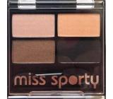 Miss Sporty Studio Colour Quattro oční stíny 406 Sunny Smoky 3,2 g