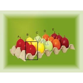 Lima Aromatické vajíčko svíčka červená A 40 x 60 mm 1 kus