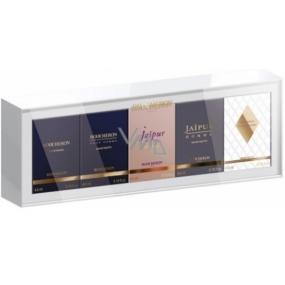 Boucheron 5 miniatur Boucheron EdT 4,5 ml + pour Homme EdT 4,5 ml + Jaipur Bracelet EdP 4,5 ml + Jaipur Homme EdT 4,5 ml + Place Vendôme EdP 4,5 ml, kosmetická sada