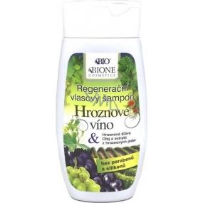 Bione Cosmetics Hroznové víno regenerační šampon na vlasy 250 ml