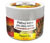 Bione Cosmetics Bio Arganový olej & Karité Pleťový krém pro celou rodinu 260 ml
